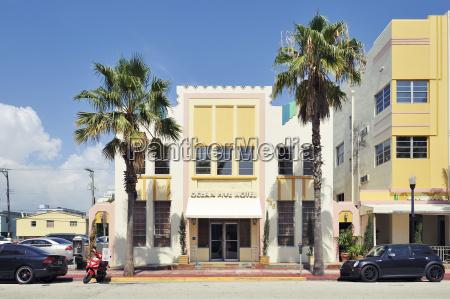 usa florida miami beach hotel with