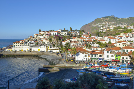 portugal madeira camara de lobos south
