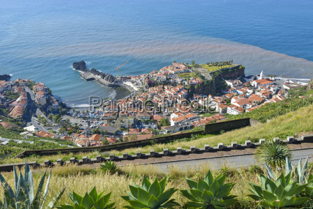 portugal madeira view of camara de