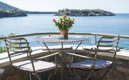 greece terrace of a restaurant with