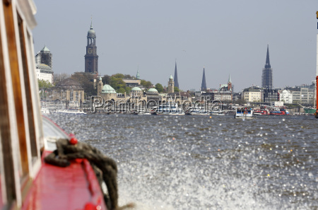 germany hamburg harbor tour with st