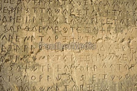 turkey lycia lycian inscription archaeological site