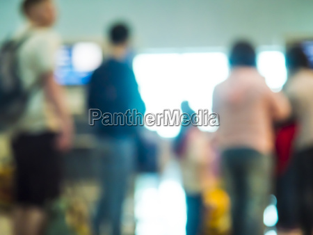 uae dubai travellers waiting at airport