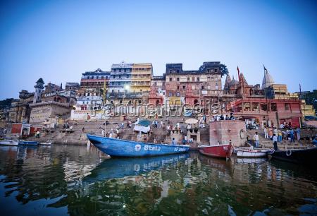 india uttar pradesh varanasi ganges river