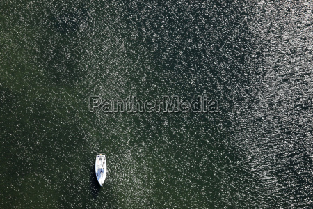germany view of sailing boat at