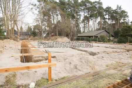 germany brandenburg strip foundation with armoring