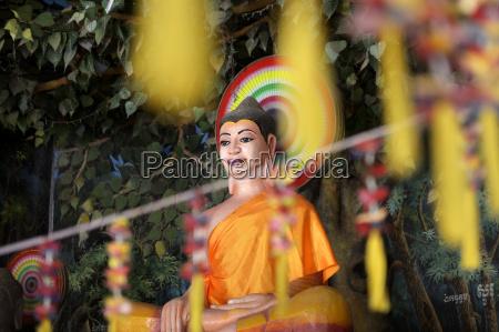 cambodia takeo province bati district buddha
