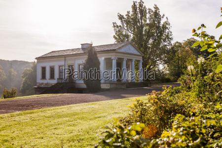 germany thuringia weimar goethepark roman house