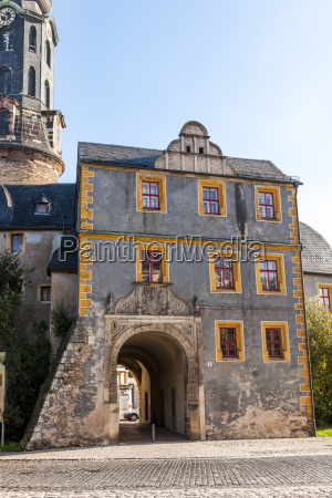 germany thuringia weimar city castle