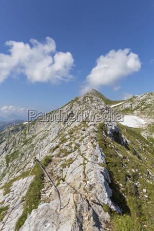 germany bavaria view of ridge walk