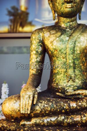 thailand bangkok buddha statue in a