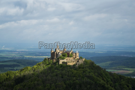 germany baden wuerttemberg view of hohenzollern