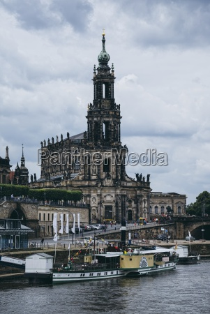 germany saxony dresden view to court