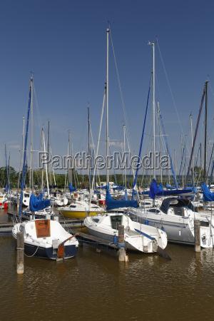 austria burgenland sailing boats at lake