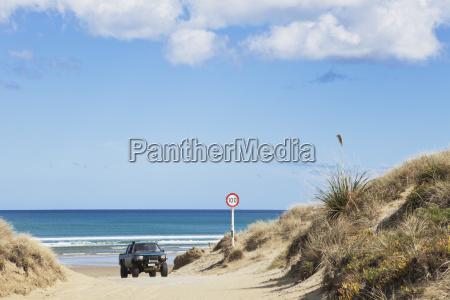 new zealand jeep at ninety mile
