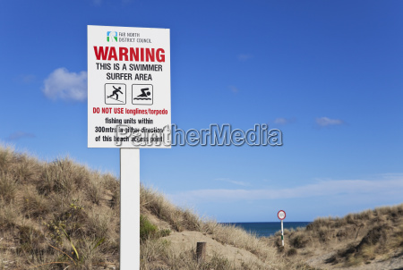 new zealand view of warning and