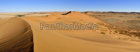 africa namibia sand dunes of the