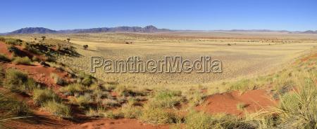 africa namibia namib desert view over