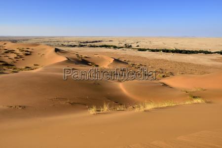 namibia namib desert view to desert
