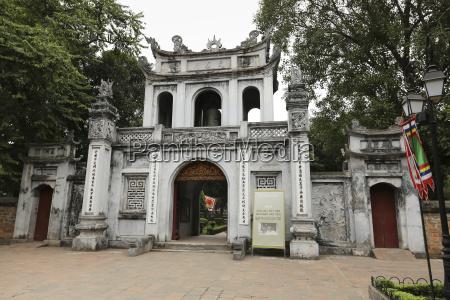 vietnam hanoi ngoc son temple