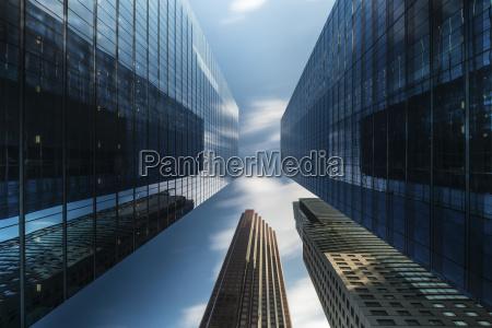 canada ontario toronto financial district modern