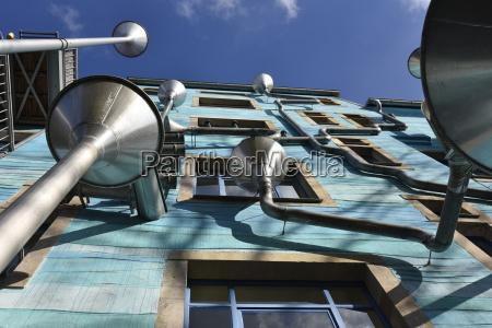 germany saxony dresden neustadt modern building