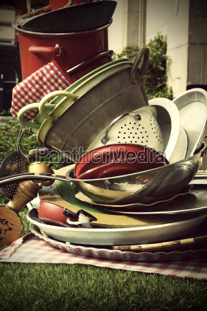 netherlands amsterdam stack of old cooking