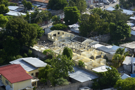 haiti port au prince reconstruction of