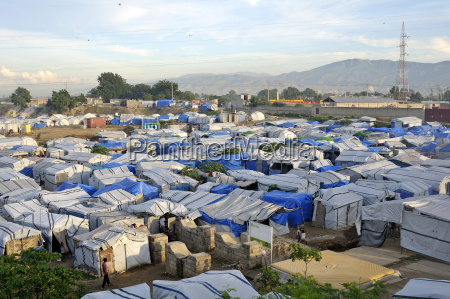 haiti port au prince camp for
