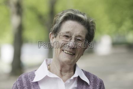 germany, , cologne, , portrait, of, senior, woman - 21084857
