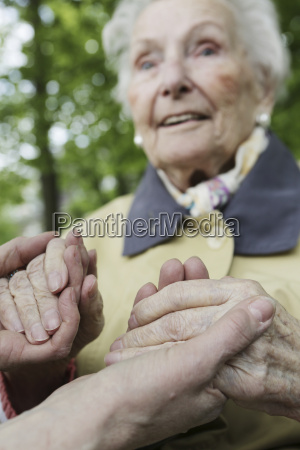 germania nordreno vestfalia colonia anziano donna