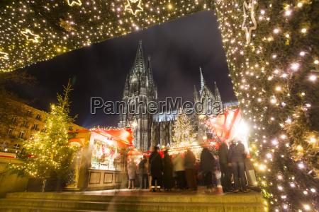 germany north rhine westphalia cologne christmas