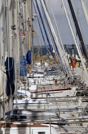 germany schleswig holstein flensburg fiord sailing