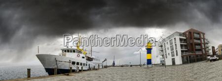 germany schleswig holstein eckernfoerde cruise vessel