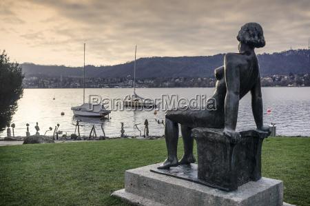 switzerland zurich view of naked women