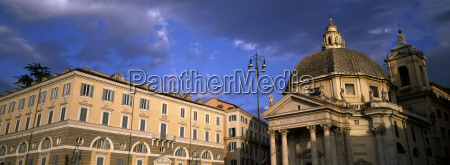 italy rome view of santa maria
