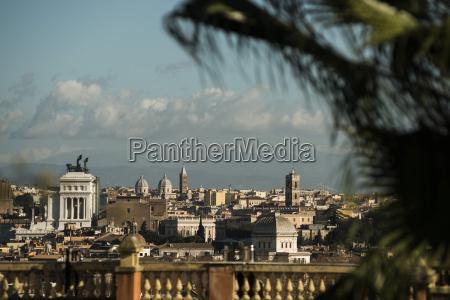 italy rome view of piazza venezia