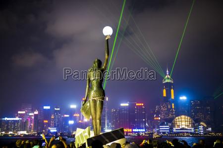 china hong kong symphony of lights
