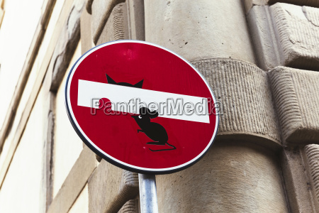 italy florence funny traffic signal
