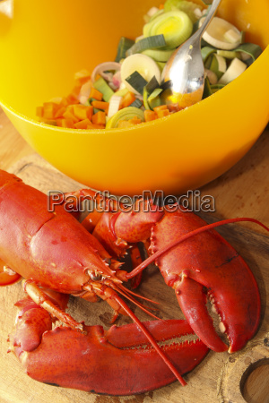 ingredients, for, lobster, soup, close, up - 21088271