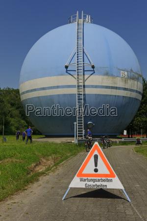 germany baden wurttemberg gas tank of