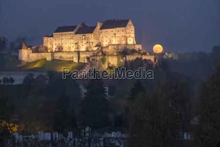 germany bavaria burghausen castle and full