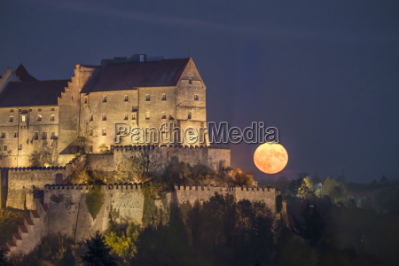 germany bavaria burghausen castle and full