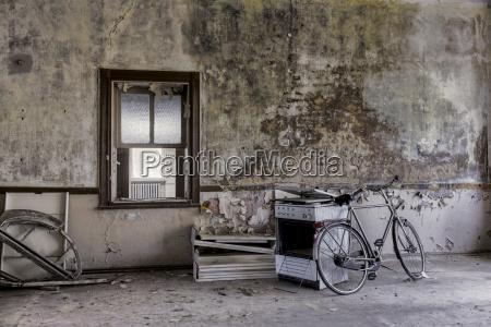 germany thuringia erfurt old bike and