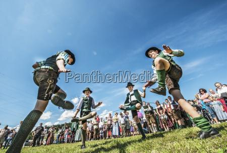 austria irdning boys in traditional clothing