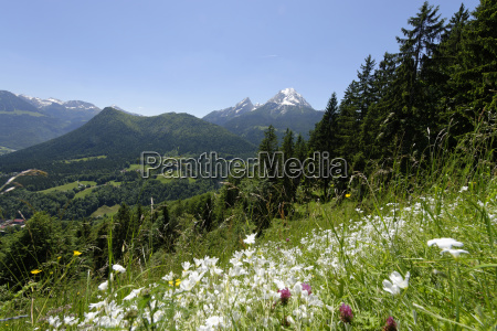 germany bavaria berchtesgaden alps near by
