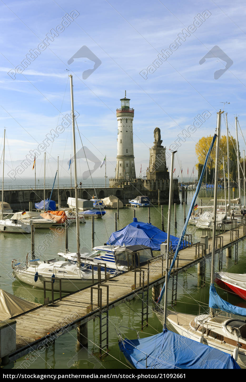 germany, , bavaria, , swabia, , lake, constance, , harbor - 21092661