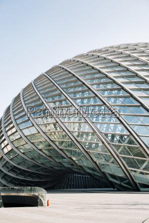 china beijing part of facade of