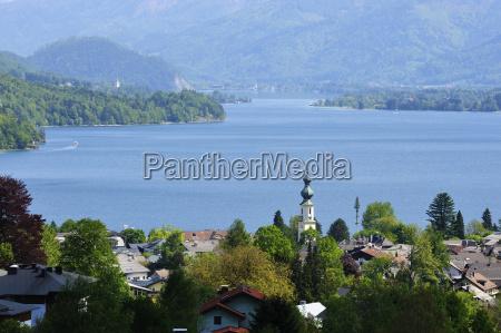 austria salzburg view of houses at