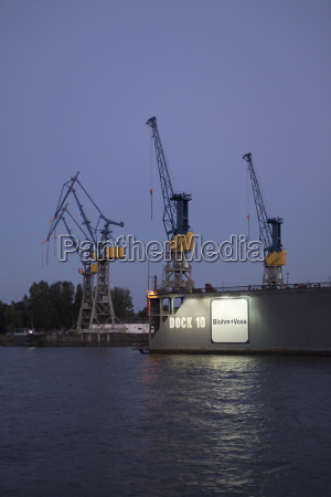 germany hamburg port of hamburg dock